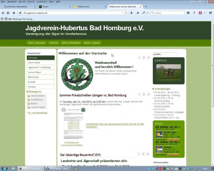 jagdverein-hubertus.de