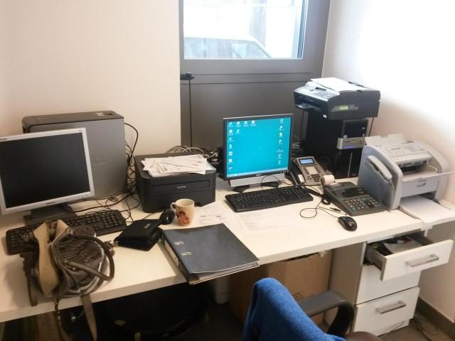 Chaotischer Computer Arbeitsplatz
